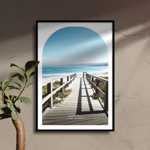 Smiths Beach Travel Poster