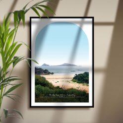 Whisky Bay Travel Poster