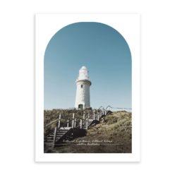 Bathurst Lighthouse Travel Poster