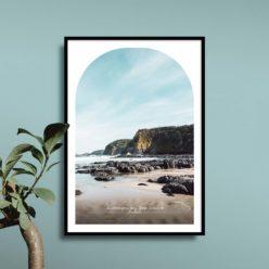 Bushrangers Bay Travel Poster